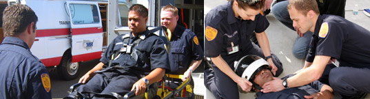 First Responder training exercises